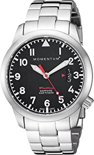 Momentum Women's 'Flatline 36' Quartz Stainless Steel Casual Watch, Color Silver-Toned (Model: 1M-SP19BS0)