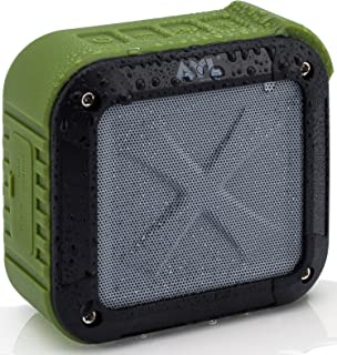 Portable Outdoor and Shower Bluetooth 5.0 Speaker by AYL SoundFit, Water Resistant, Wireless with 10 Hour Rechargeable Bat...