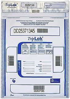 12 X 16 TripLok, Clear, 100 Deposit Bags