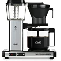 Technivorm Moccamaster 59616 40 oz KBG Coffee Brewer (Polished Silver)
