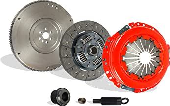 Clutch And Flywheel Kit Works With Chevy S10 Gmc Sonoma Isuzu Base LS SL SLS SLE XS Xtreme 1996-2001 2.2L l4 GAS OHV Naturally Aspirated (Stage 1)