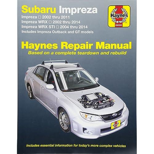 2004 wrx service manual