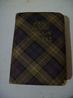 The Lady of the Lake. The Thistle Library. In Royal Stewart Tartan Binding with Original Box