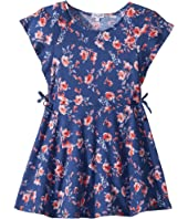 Splendid Littles Floral Print Ruffle Dress (Toddler/Little Kids)