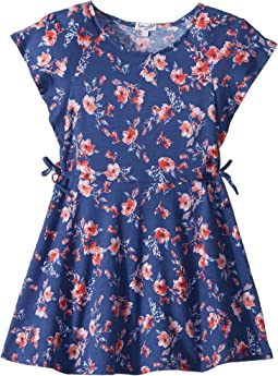 Floral Print Ruffle Dress (Toddler/Little Kids)