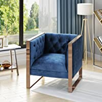 Christopher Knight Home Shawn Modern Velvet Club Chair
