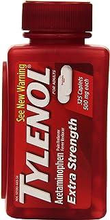 Tylenol Extra Strength Acetaminophen 500 Mg 325 Caplets