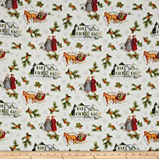 Riley Blake Designs Anne of Green Gables Main Gray Fabric By The Yard