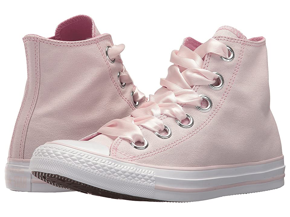 Converse Chuck Taylor(r) All Star Pastel Canvas Big Eyelet Hi (Barely Rose/Light Orchid/White) Women