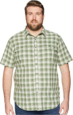 Big and Tall Leadville Ridge Yarn-Dye Short Sleeve Shirt