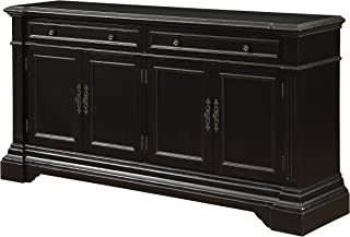 Treasure Trove Accents 17010 Two Drawer Four Door Media Credenza, 68.5