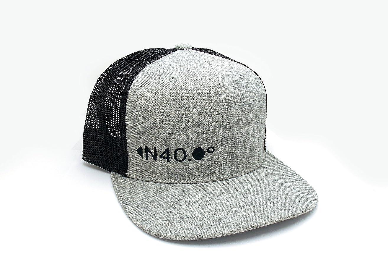 North 40 Latitude - Mesh & Wool Hat Trucker -