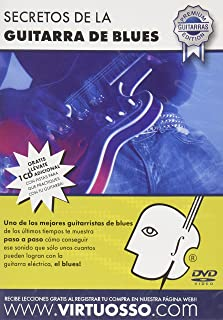Virtuosso Blues Guitar Method (Curso De Guitarra De Blues) SPANISH ONLY