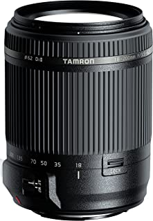 Tamron AF 18-200 mm F/3.5-6.3 XR Di II - Objetivo para cámara Sony Alpha DSLR (A-Mount) (distancia focal 18-200 mm apertura f/3.5-6.3 diámetro filtro: 62mm) color negro
