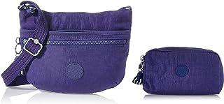 Kipling Damen Arto S Crossbody Taschen, Einheitsgröße, Blau - Galaxy Blue - Größe: One Size Damen Gleam Pouches Etui, Einh...