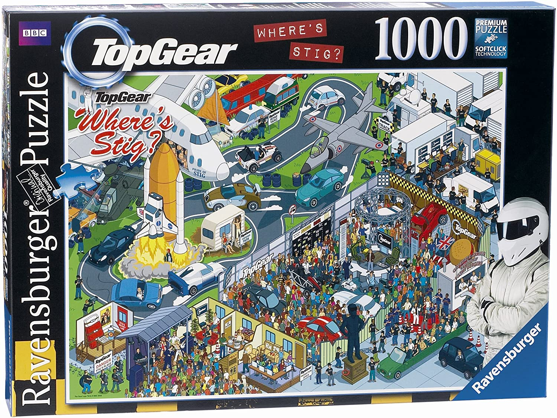 Ravensburger Top Gear Wo ist Stig Studio 1000 Teile Puzzle