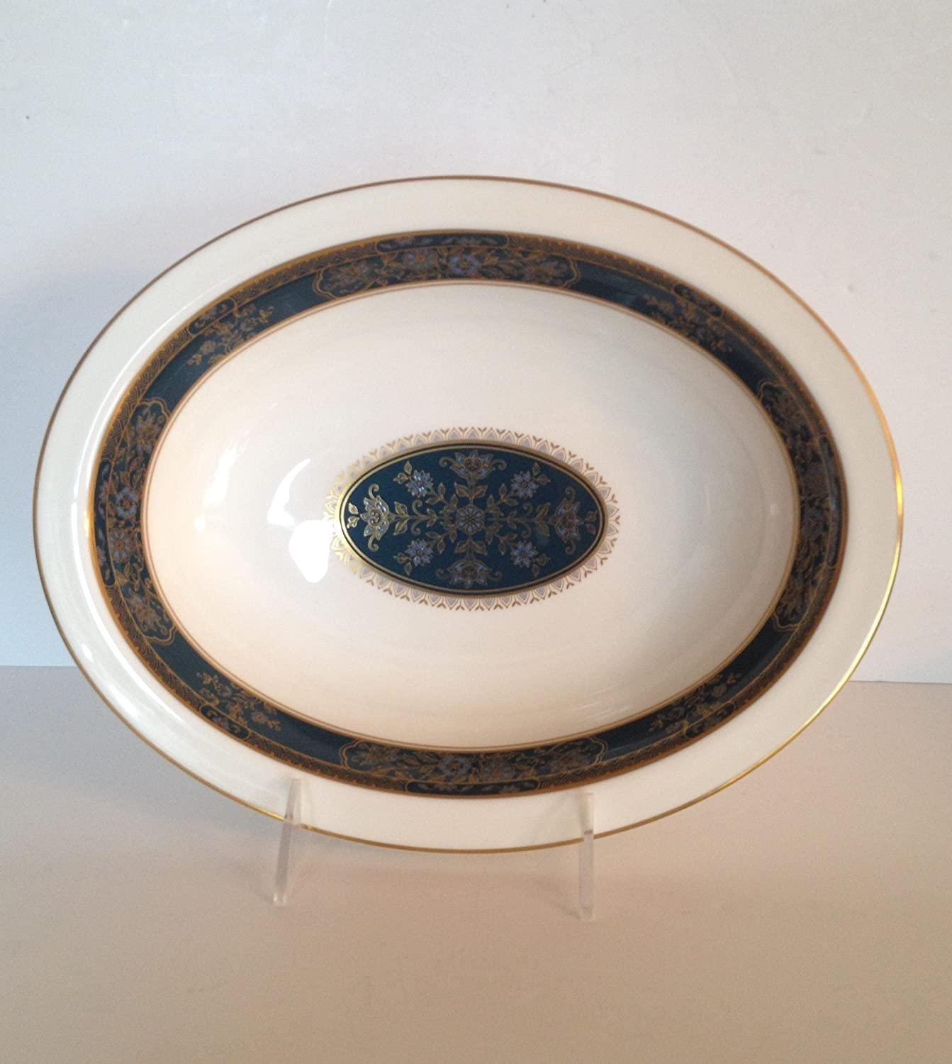 New item Royal Doulton Carlyle H5018 Oval Bowl 11