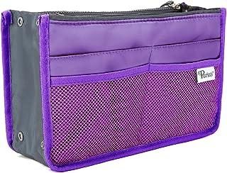 Periea Handbag Organiser - Chelsy - 28 Colours Available - Small, Medium Large (Small, Purple)