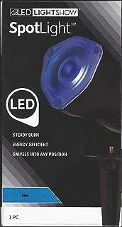 Gemmy LED LightShow Spotlight with Stake (Blue)