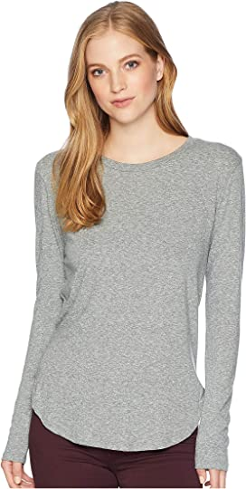 29e526f408f21a LNA Essential Cotton Long Sleeve Crew Neck at 6pm