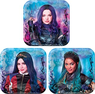 Descendants 3 Dessert Paper Plates (8 Pcs) - 1 Pack