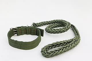 LVEM Nylon Rope Dog Whisperer Cesar Millan Style Slip Training Leash Lead and Collar