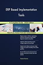 ERP Based Implementation Tools A Complete Guide - 2020 Edition