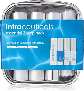 Intraceuticals Rejuvenate Essential 3 Step Pack with Daily Serum Plus Gel and Cream, 0.5 Ounce