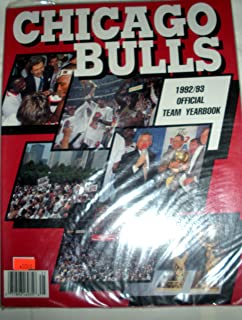 Chicago Bulls 1992/93 Team Yearbook