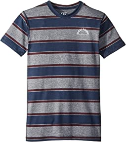VISSLA Kids Delirium Short Sleeve Lycra Shirt (Big Kids)