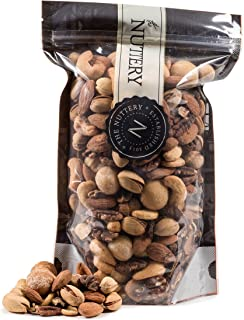 The Nuttery Roasted and salted Mixed Nuts - 16 ounce Pouch Bags (1lb)
