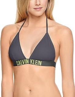 Calvin Klein Women's Intense Power Triangle Bikini Top Swimwear
