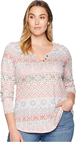 Plus Size Austen Long Sleeve Shirt