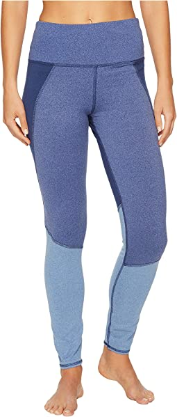 Splendid - High-Waisted Heather Blocked Leggings