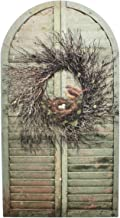 Timeless by Design Window Shutters with Bird Nest Shabby Chic Canvas Art