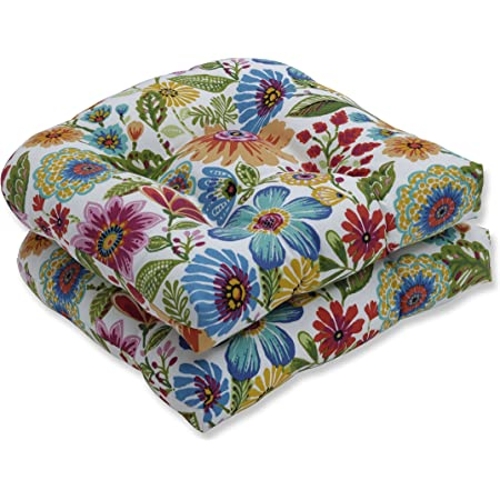 Indoor Gilford Baltic Wicker Seat Cushion Set of 2 Pillow Perfect Outdoor 2 Piece