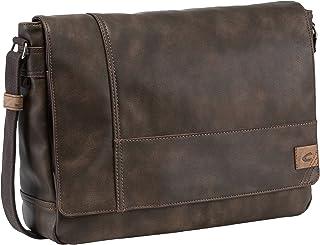camel active, Messenger Bag, Herren, Umhängetasche, Arbeitstasche, Business Tasche, Schultertasche, Laos, Braun,40