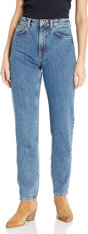Nudie Jeans Women's Indefinitely Breezy Friendly Britt Blue Deluxe