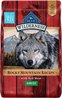 Blue Buffalo Wilderness Rocky Mountain Recipe High Protein, Natural Adult Dry Dog Food