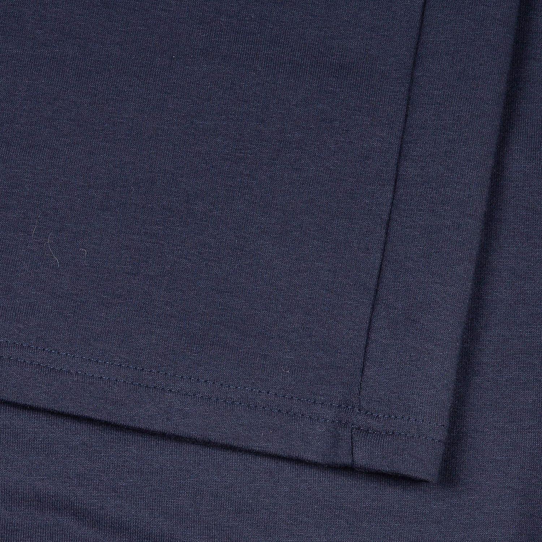 TAO Couletto Sportswear Pantalon long pour homme en coton bio (KBA), certifié GOTS Hansi Bleu Marine