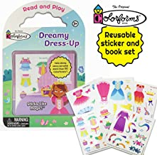Colorforms Dreamy Dress-Up Princess - Reusable Sticker Activity Book Clings For Toddlers 2-5 (Colorforms Activity Books)