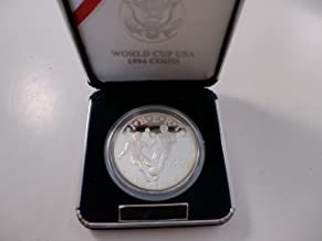 1994 World Cup USA Proof Silver Dollar $1 Mint State US Mint