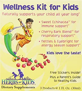 Herbs for Kids Wellness Kit for Kids, 3 Count