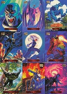 Verzamelkaarten, ruilkaarten Marvel Dangerous Divas Parallel Foil Base Card #6 Verzamelingen