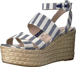Nine West Women's KUSHALA Fabric Wedge Sandal