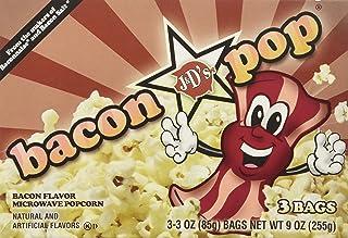 Bacon Pop Bacon Flavored Microwave Popcorn, 9 oz box