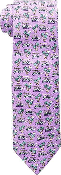 Vineyard Vines Truck & Palm Printed Tie