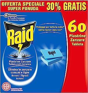 comprar comparacion Raid, pastillas repelentes de mosquitos para aparato eléctrico,60unidades