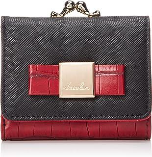 [ダズリン] dazzlin クロコ配色ガマ口財布ミニWALLET DAZ-80660 BLK x RED レッド