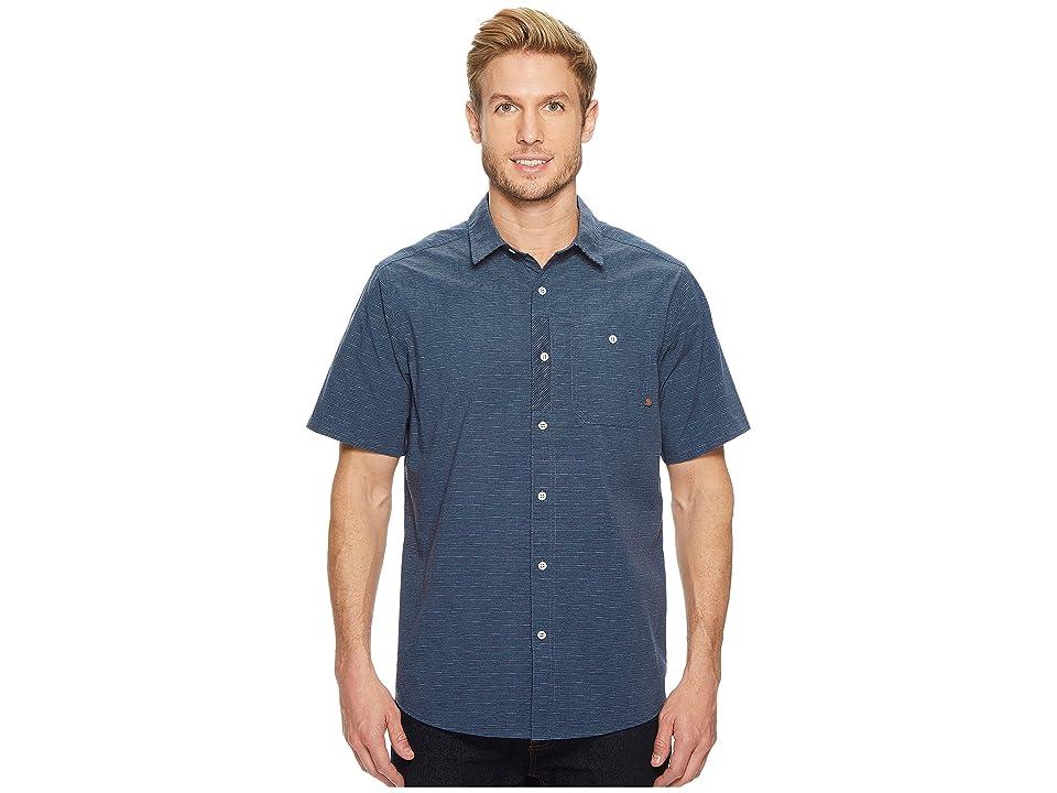 Mountain Hardwear Franztm Short Sleeve Top (Zinc) Men